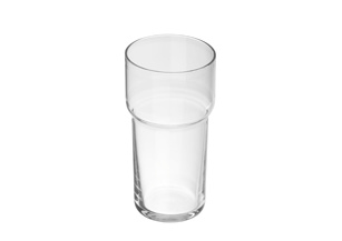 Crystal tumbler frosted -