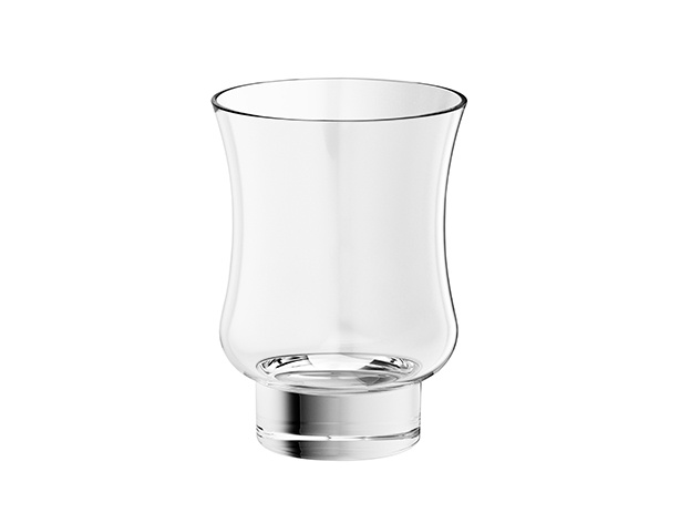 Crystal tumbler transparent -