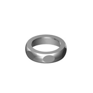 "Cap nut 1 1/4"" - polished chrome"