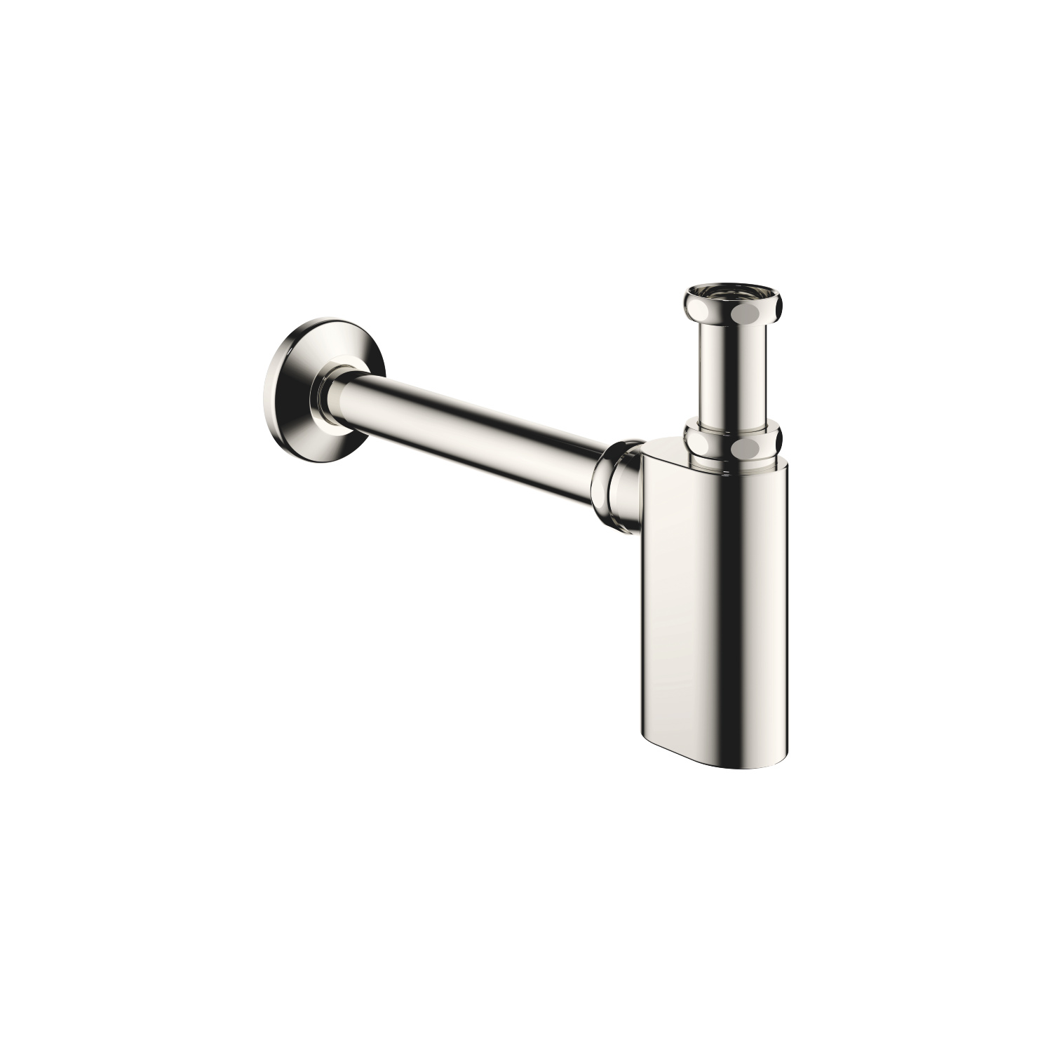"Siphon for basin 1 1/4"" - platinum"