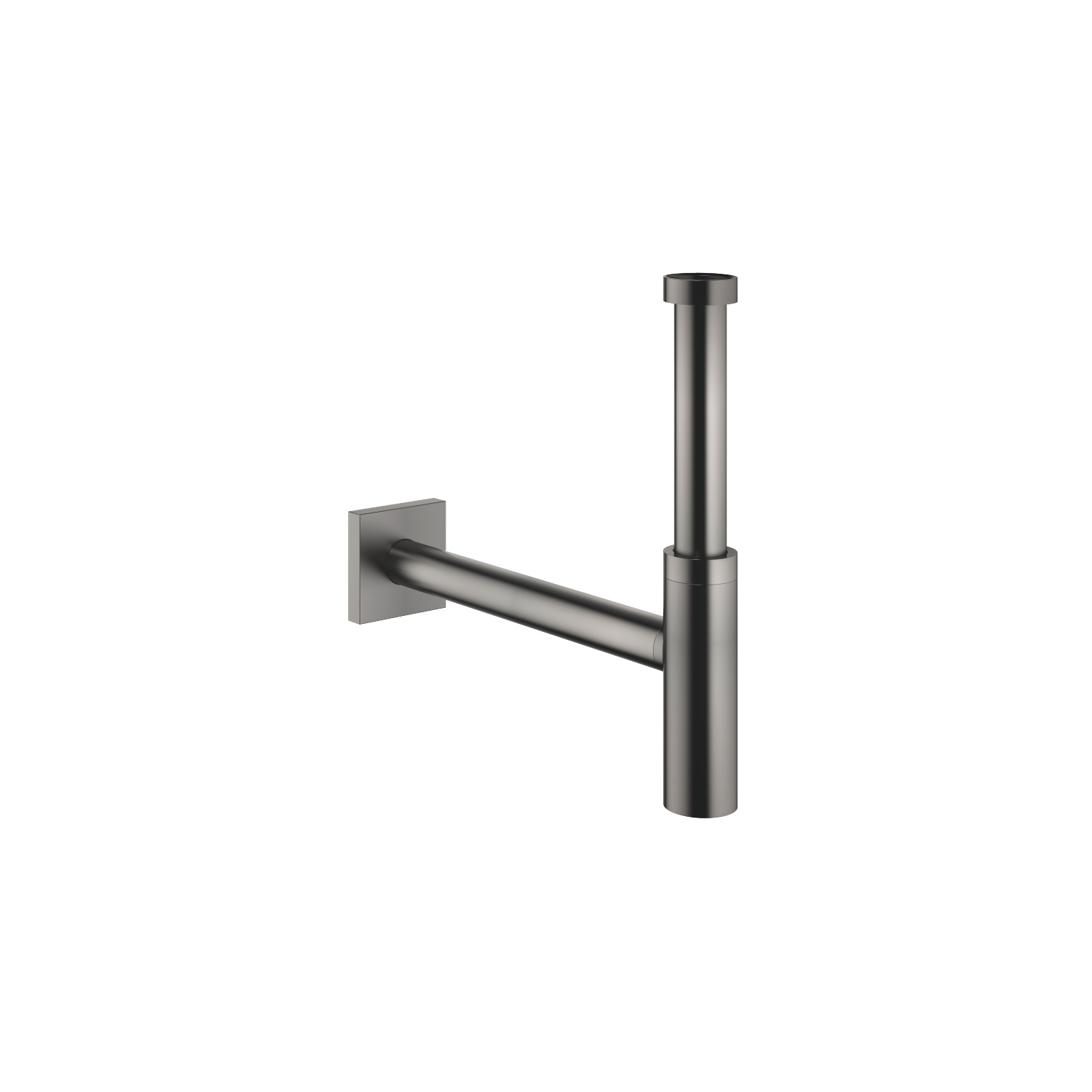 "Siphon for basin 1 1/4"" - Dark Platinum matt - 10 060 780-99"