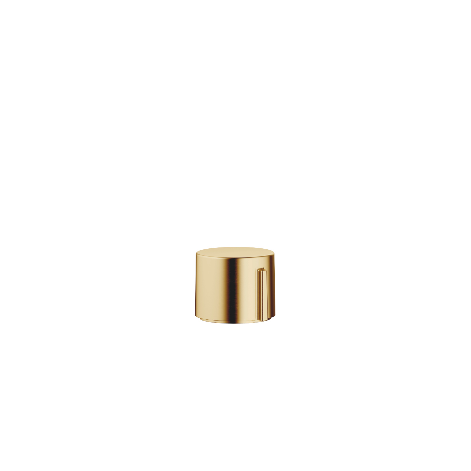Strainer remote control with turning knob - Brushed Durabrass