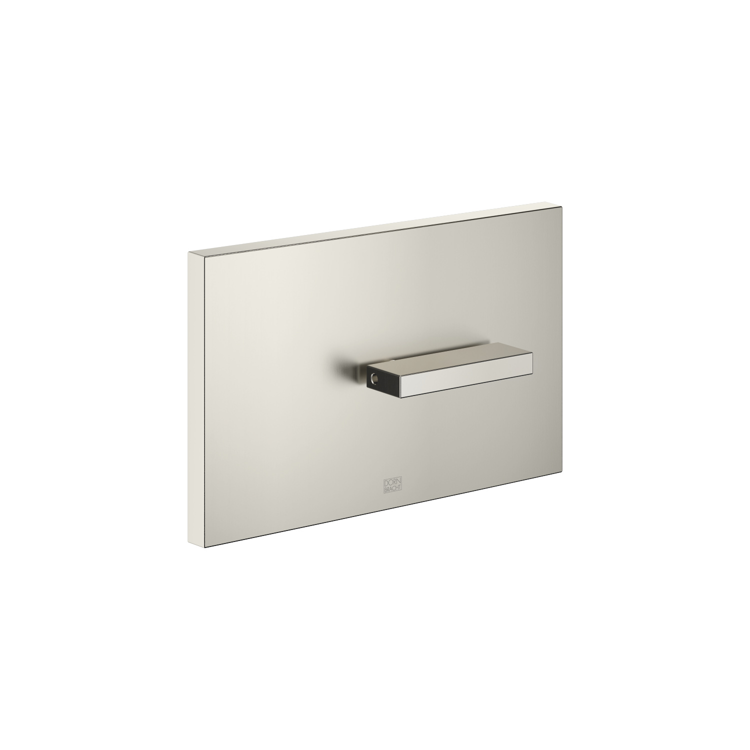 Cover plate for the concealed WC cistern made by TeCe - platinum matt