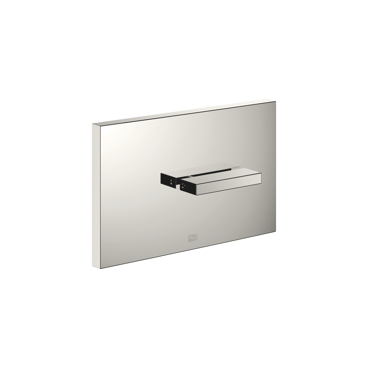 Cover plate for the concealed WC cistern made by TeCe - platinum - 12 660 979-08
