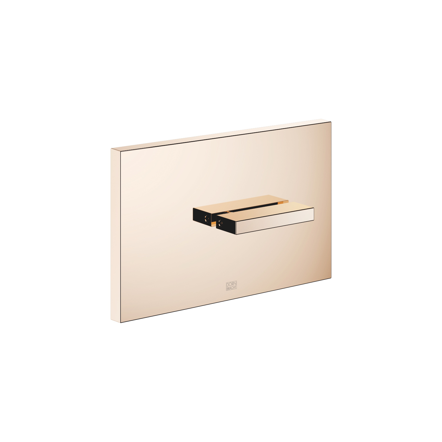 Cover plate for the concealed WC cistern made by TeCe - Champagne