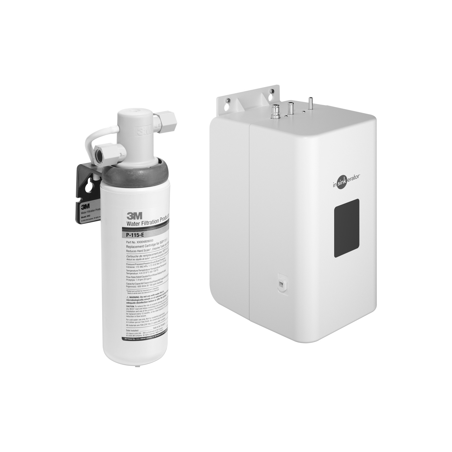 Hot water tank incl. filter -