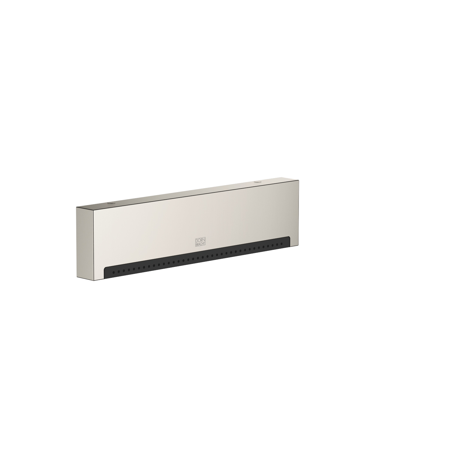 WATER FALL Cascade spout with PEARLSTREAM for wall-mounted installation - platinum matte