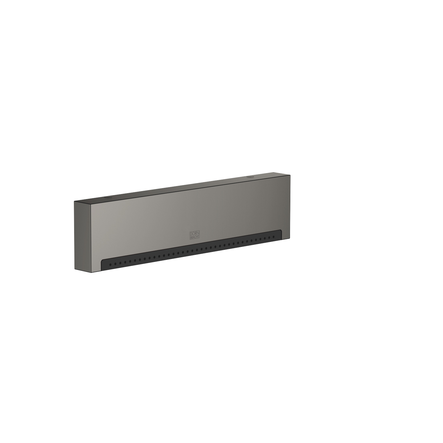 WATER FALL Cascade spout with PEARLSTREAM for wall-mounted installation - Dark Platinum matte