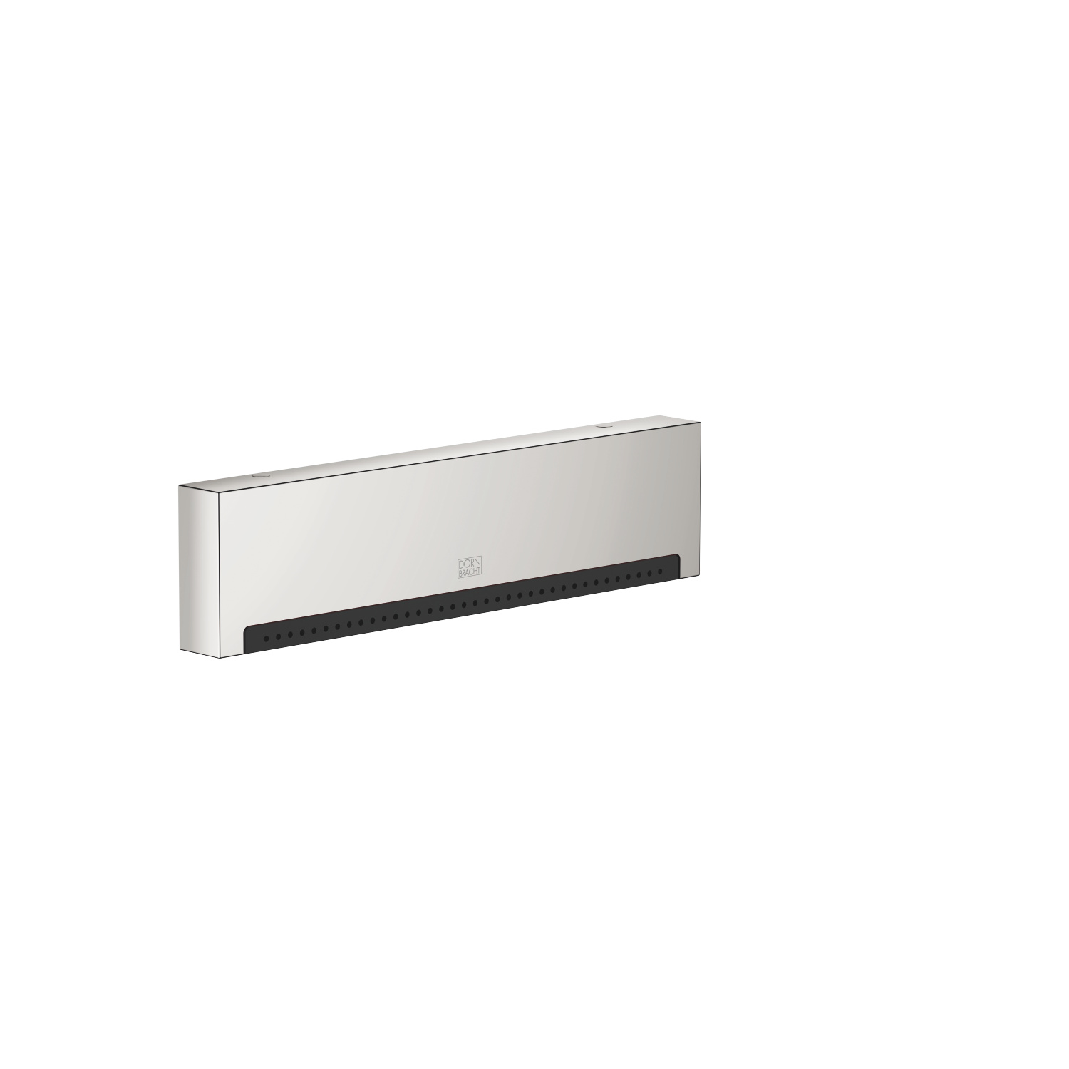 WATER FALL Cascade spout with PEARLSTREAM for wall-mounted installation - platinum