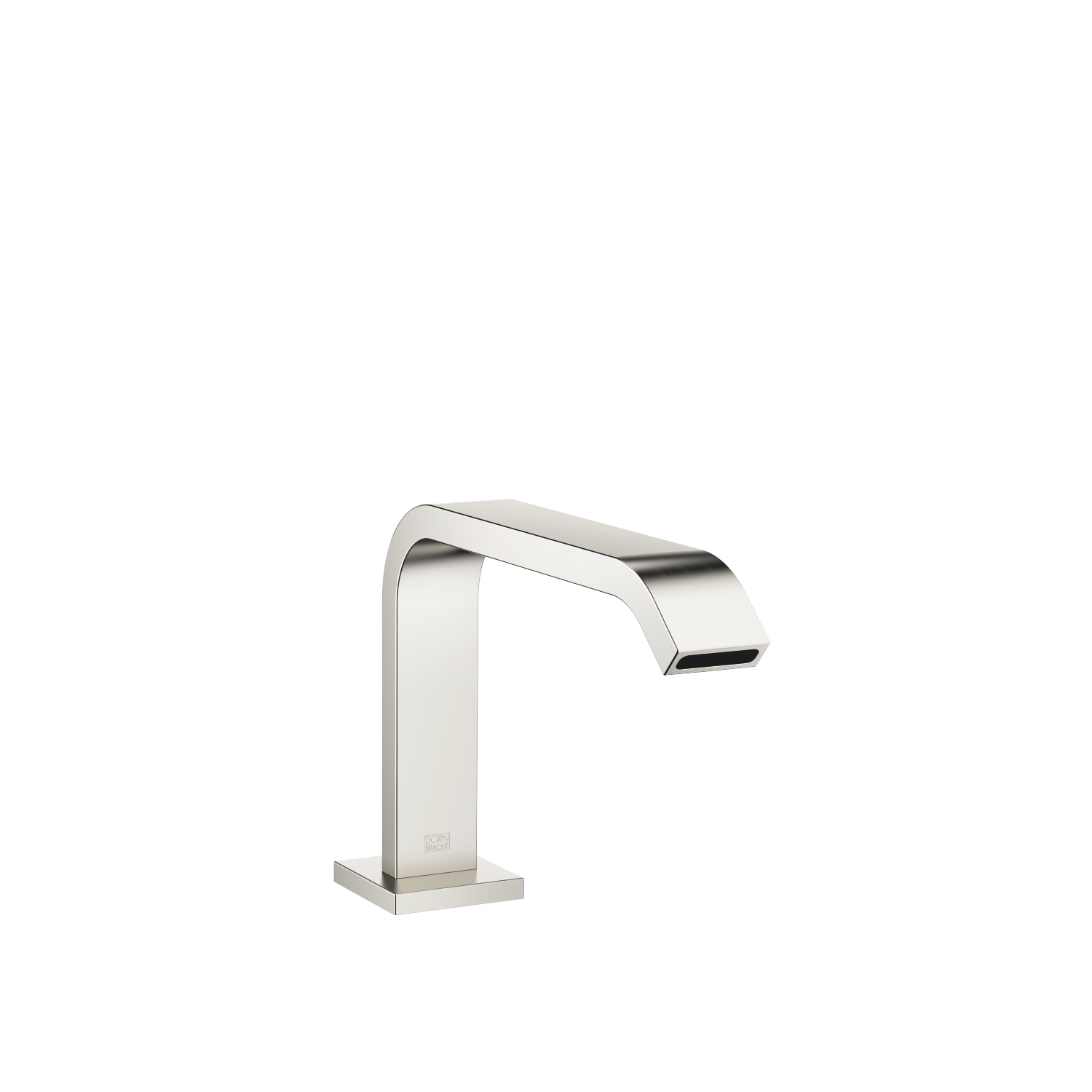 bath spout with diverter for deck mounting - platinum matt