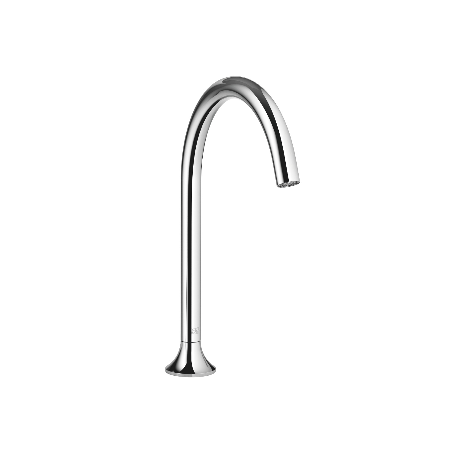 bath spout without diverter for deck mounting - polished chrome