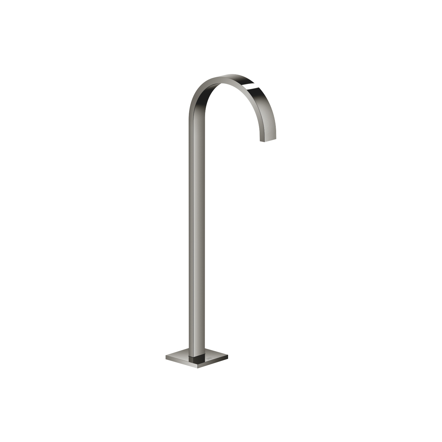 bath spout without diverter for free-standing assembly - platinum