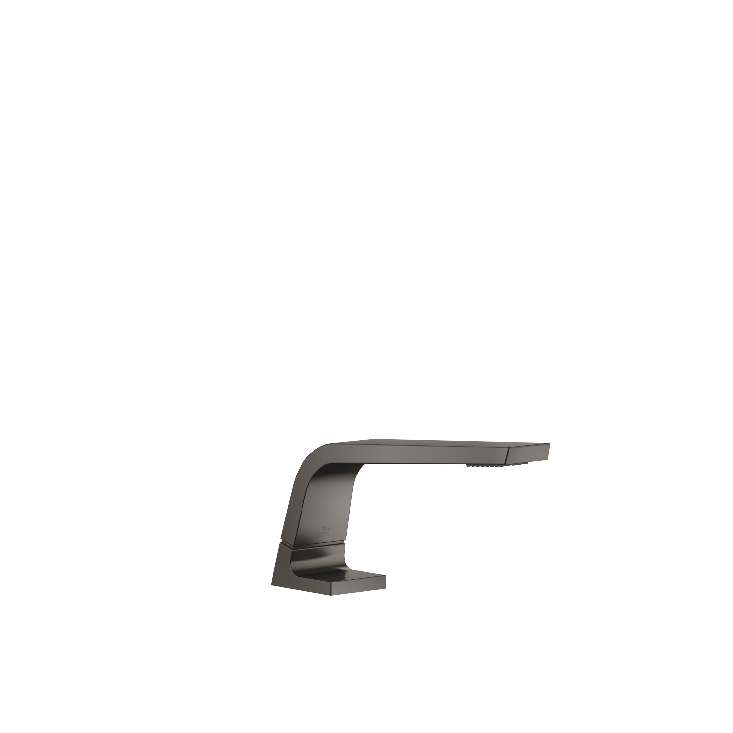 Lavatory spout, deck-mounted without drain - Dark Platinum matte