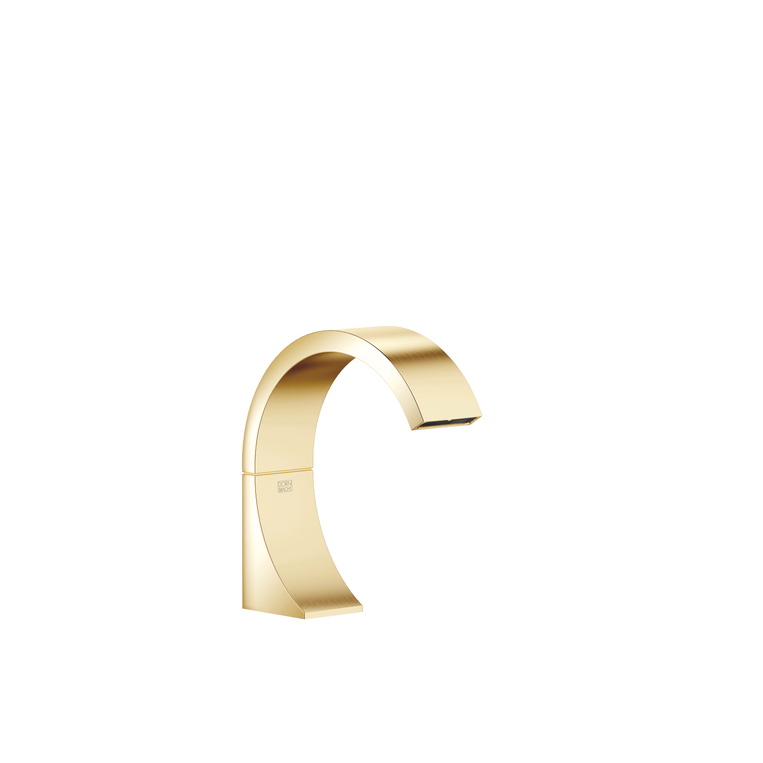 Deck-mounted basin spout without pop-up waste - Durabrass / brushed Durabrass