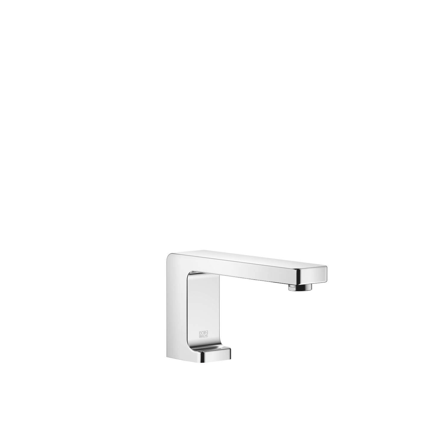 Lavatory spout, deck-mounted without drain - polished chrome