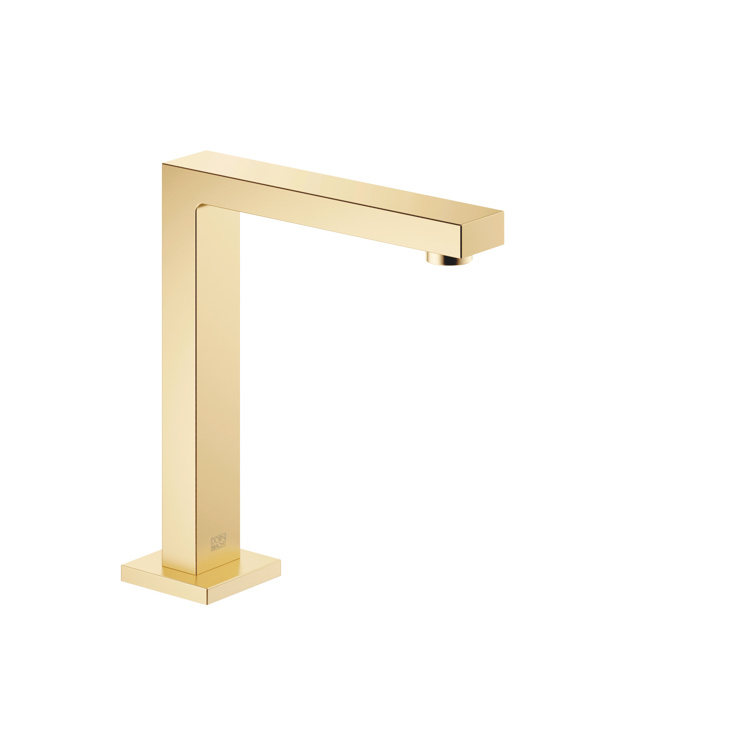 Lavatory spout, deck-mounted without drain - Brushed Durabrass
