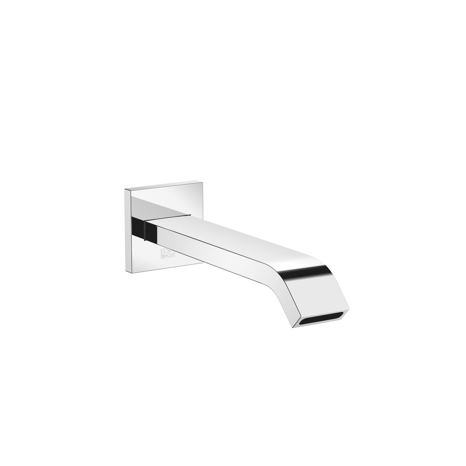 bath spout for wall mounting - polished chrome