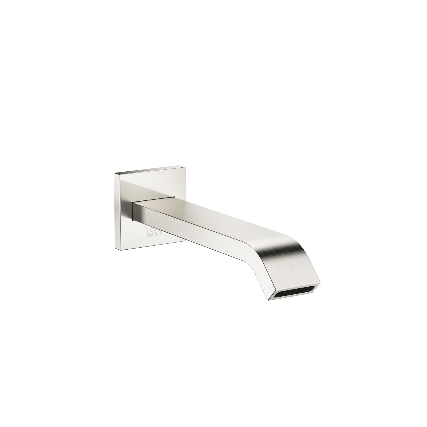 bath spout for wall mounting - platinum matt