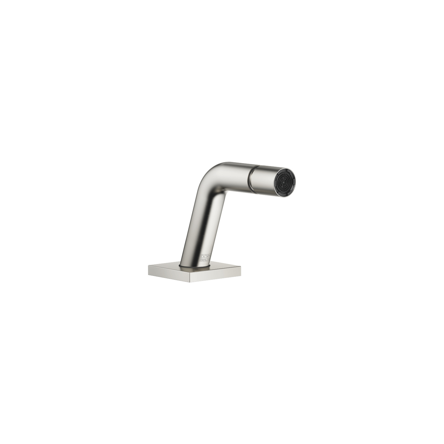 Bidet spout without drain - platinum matte
