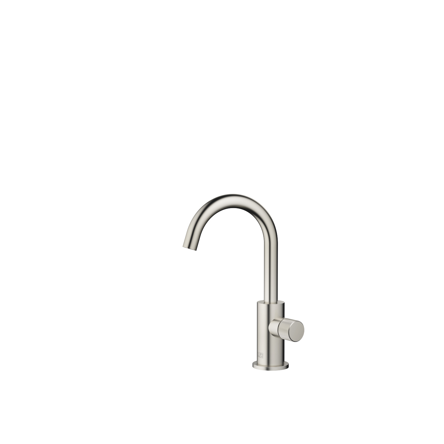 Pillar tap cold water - platinum matt