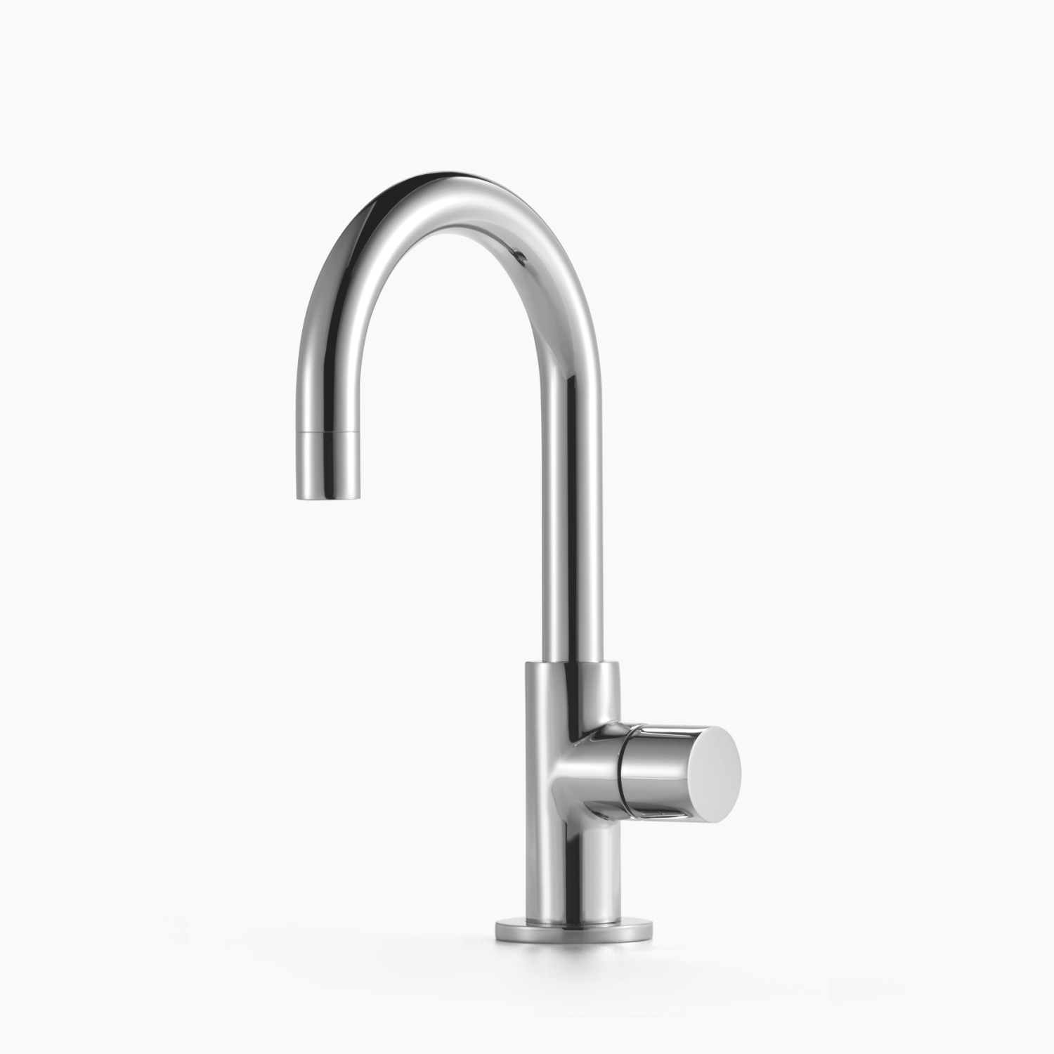 Pillar tap cold water - polished chrome