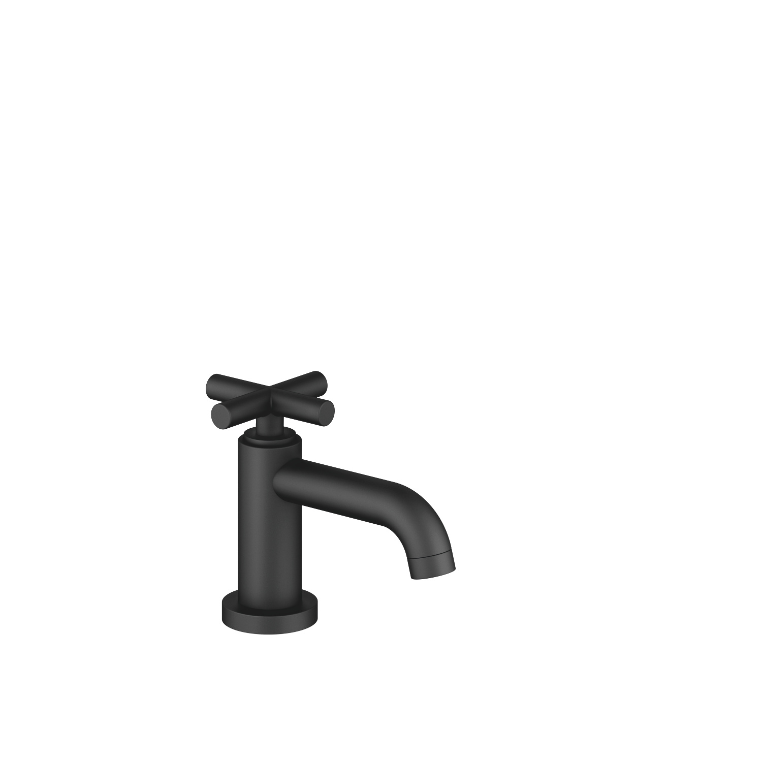 Pillar tap cold water - matt black