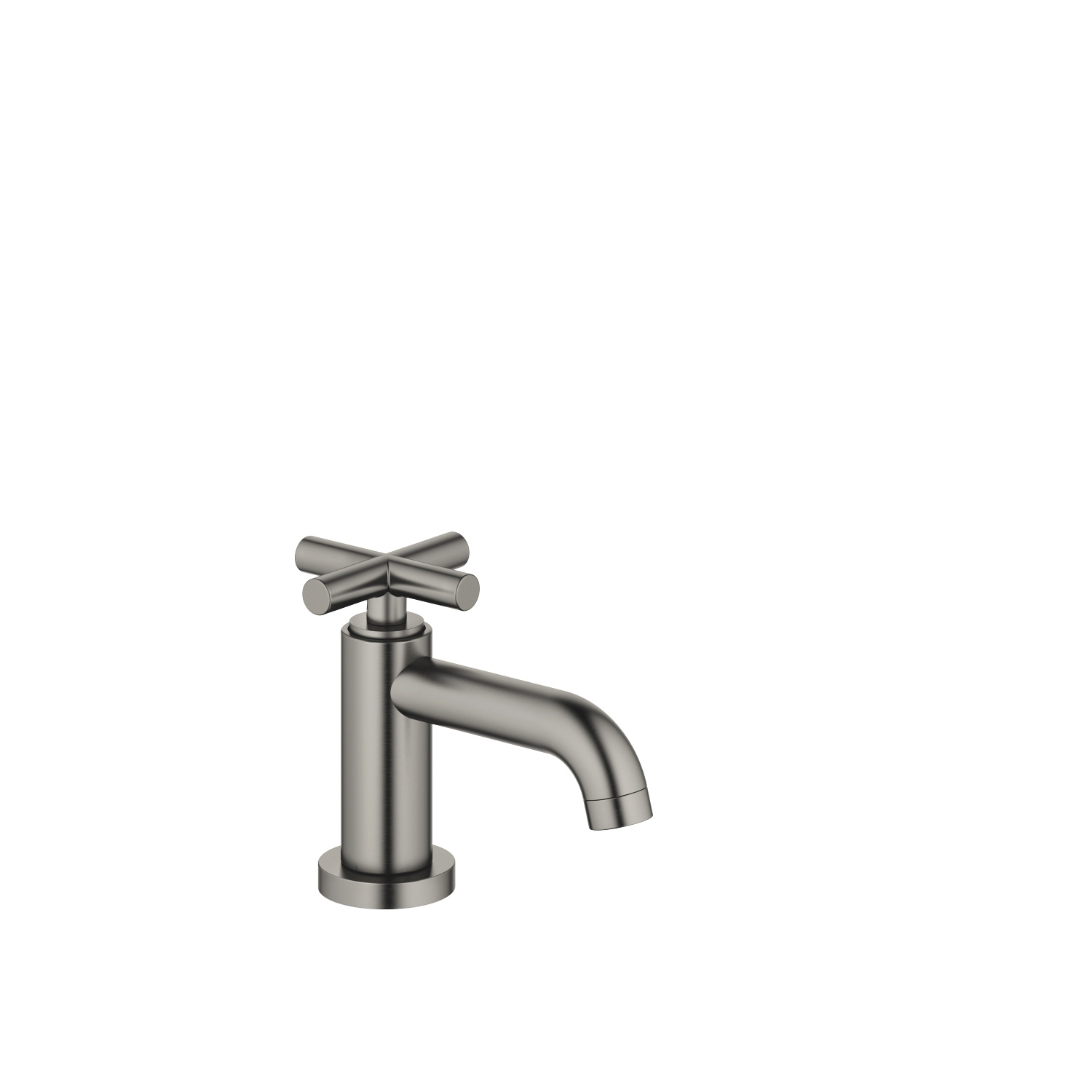 Pillar tap cold water - Dark Platinum matt