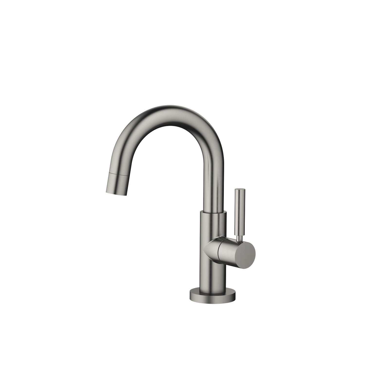 Pillar tap cold water - Dark Platinum matt - 17 510 882-99