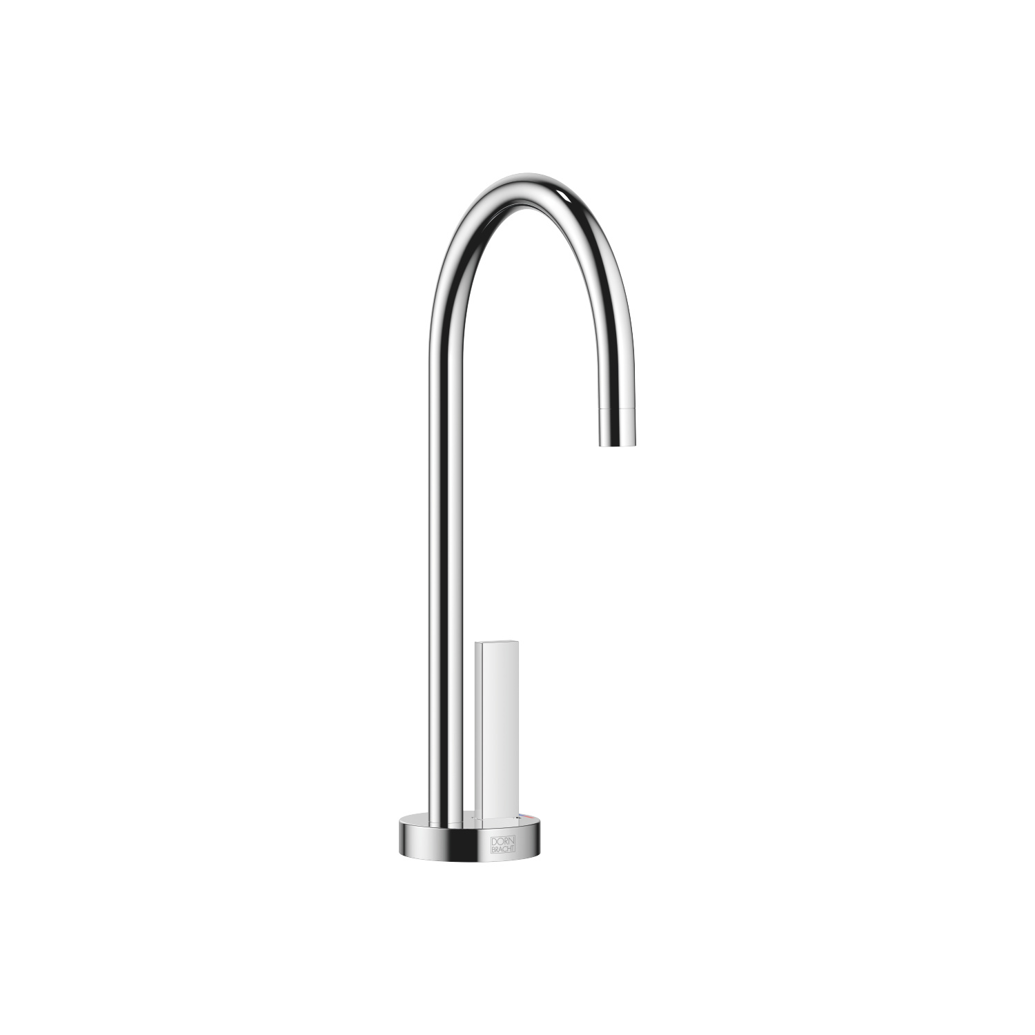 HOT & COLD WATER DISPENSER - polished chrome