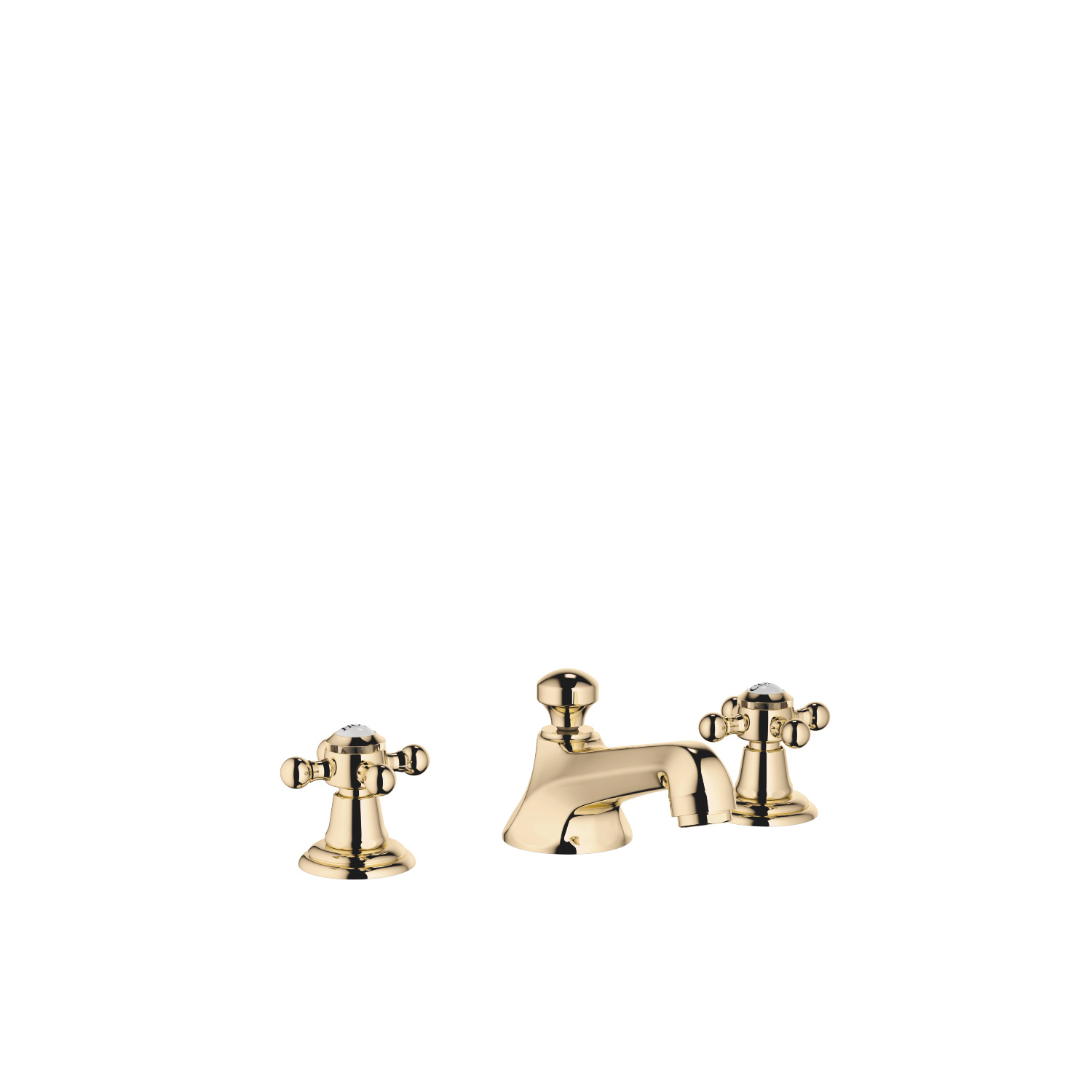 Three-hole basin mixer with pop-up waste - Durabrass - 20 700 360-09
