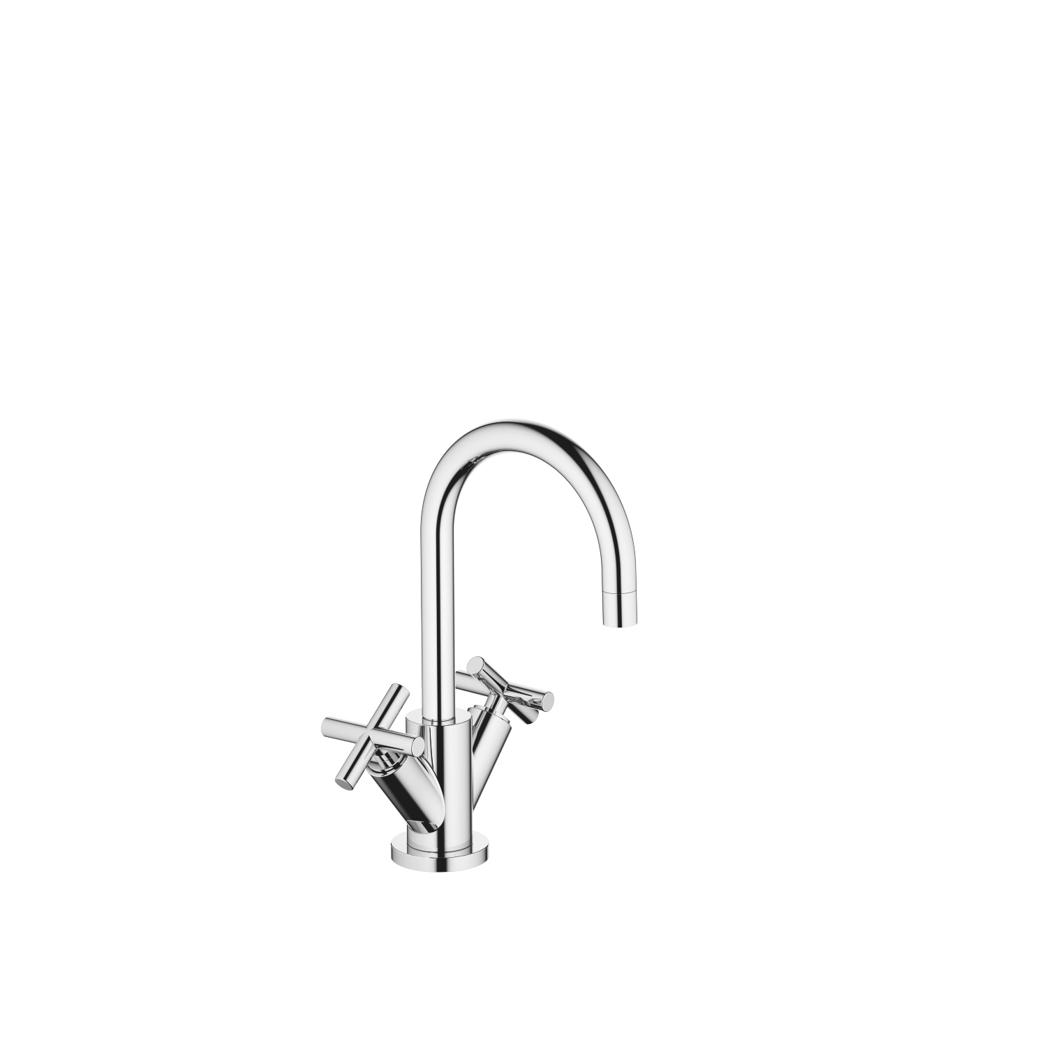 Single-hole basin mixer with pop-up waste - polished chrome - 22 512 892-00