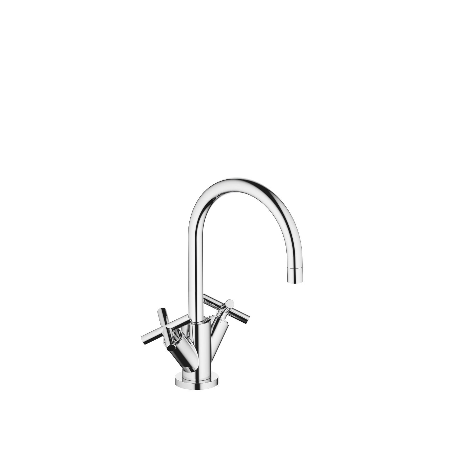 Single-hole basin mixer with pop-up waste - polished chrome - 22 513 892-00