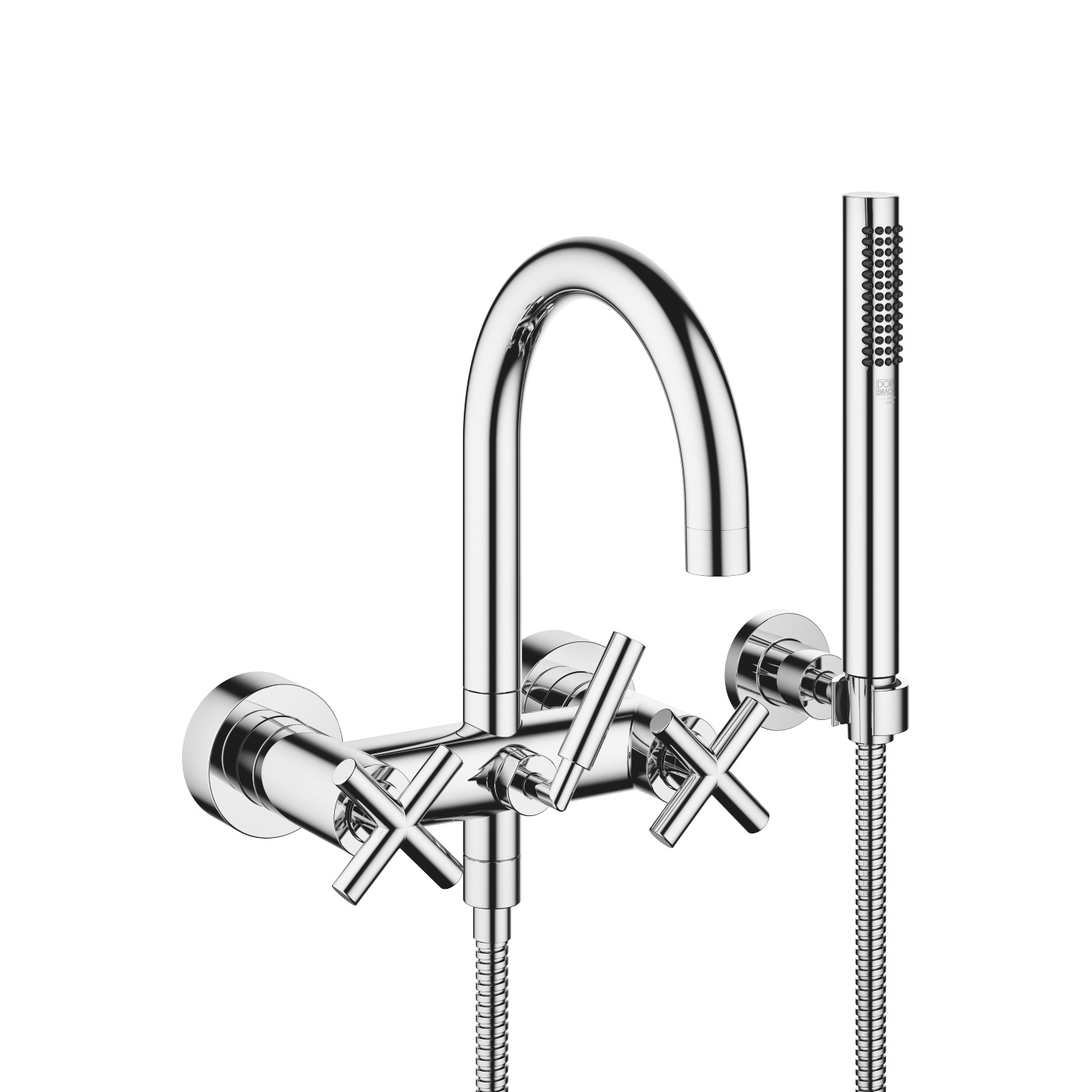 Tara. polished chrome Washstand faucets