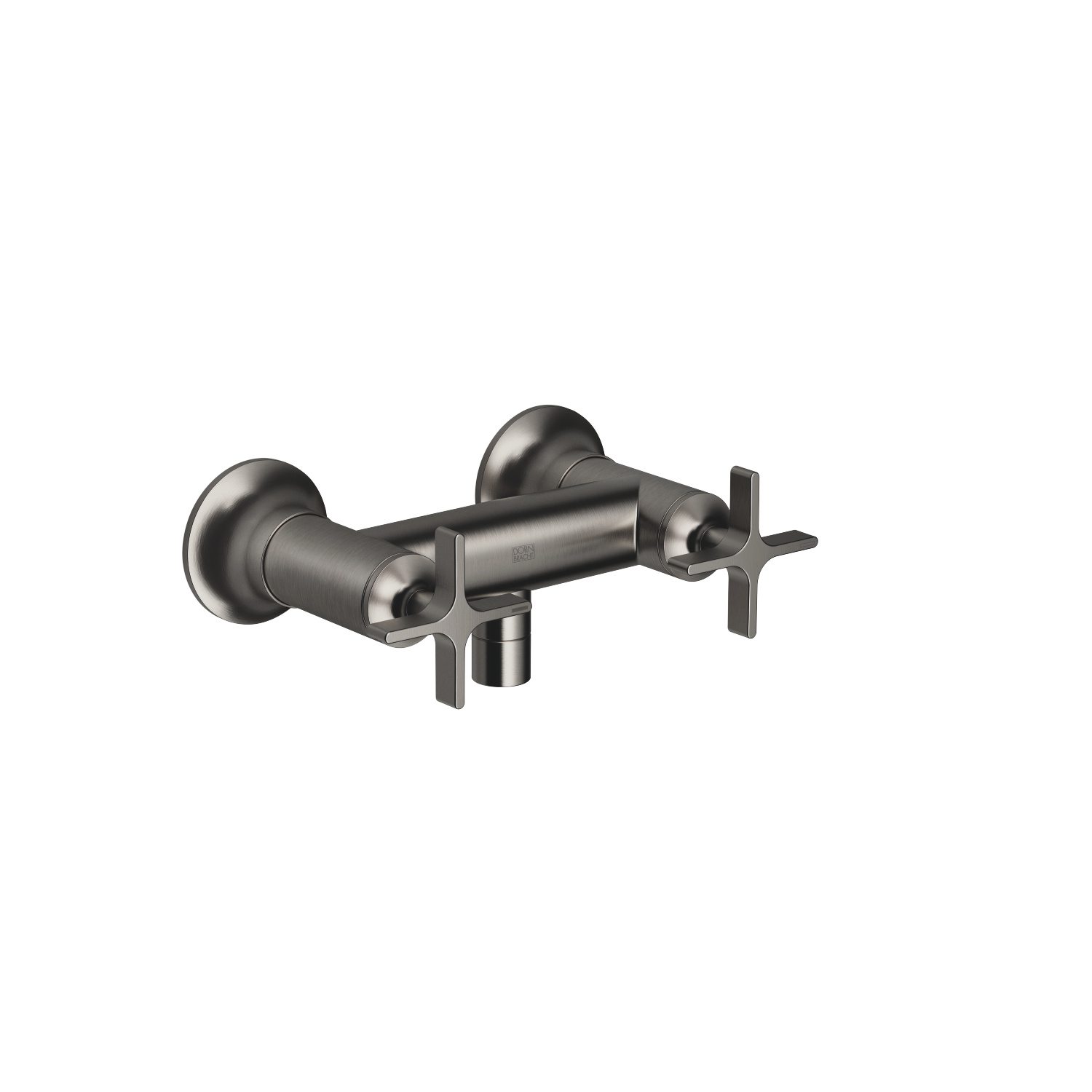 Shower mixer for wall mounting - Dark Platinum matt