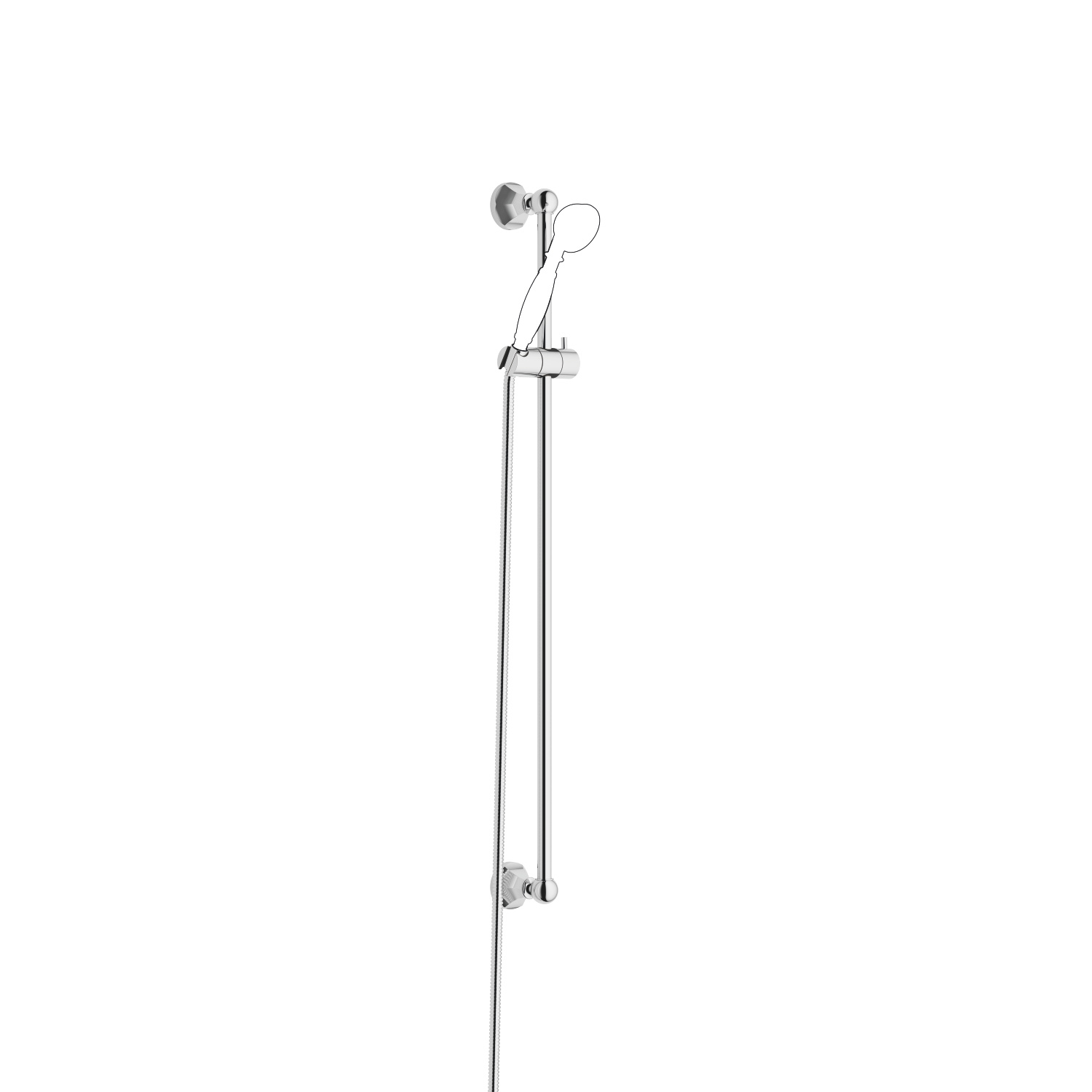 Shower set - polished chrome - 26 413 370-00