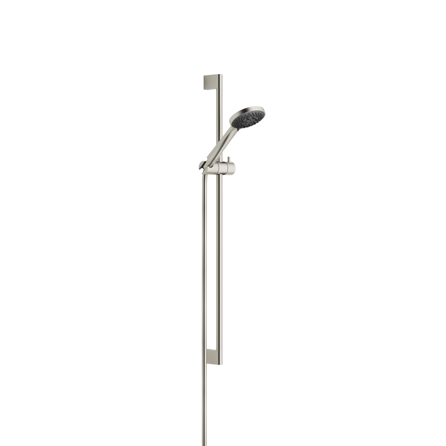 Shower set - platinum matt