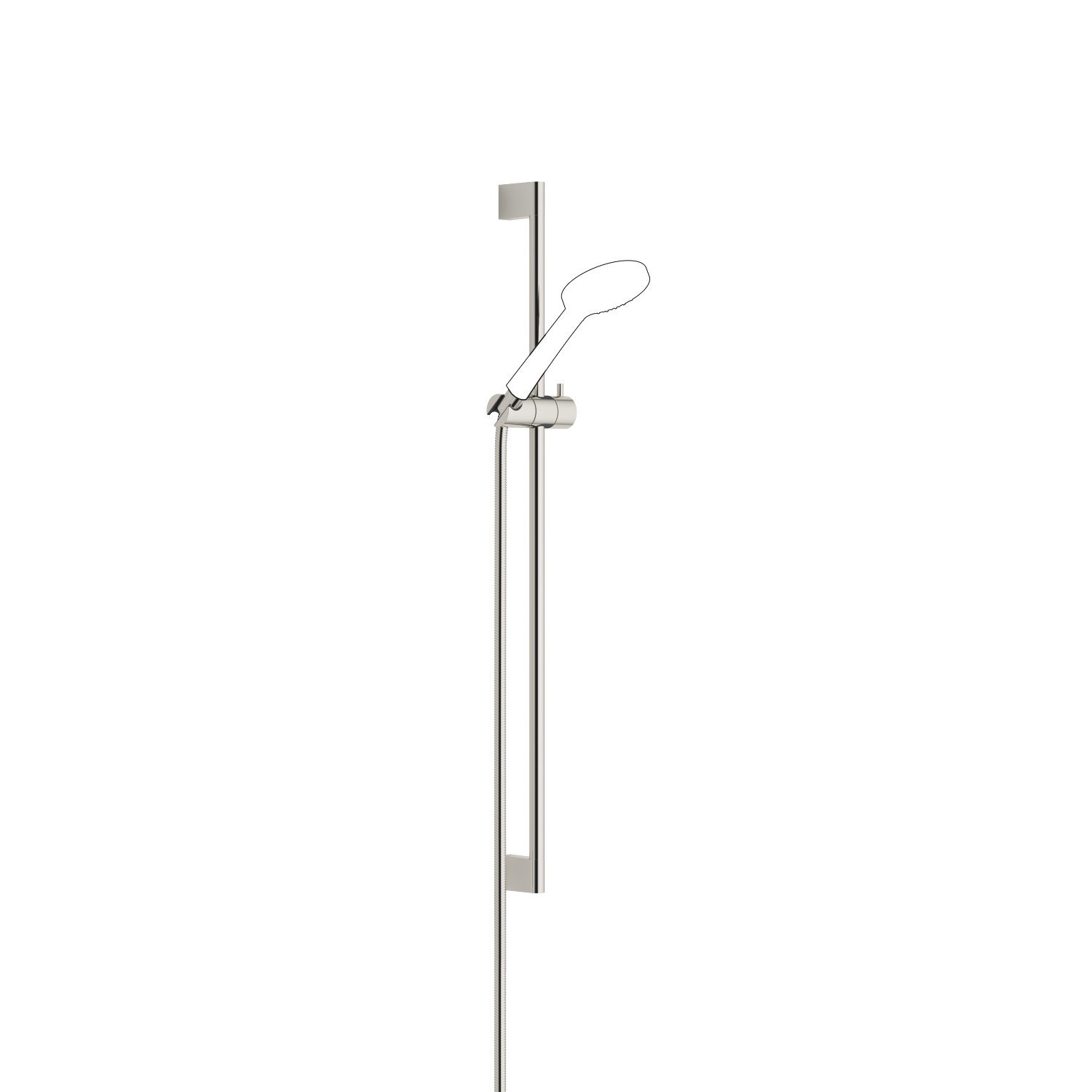 Shower set - platinum