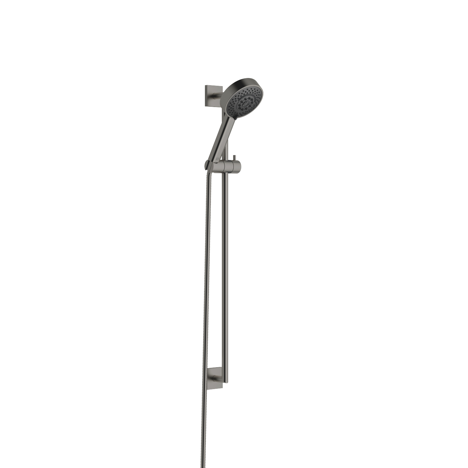 Shower set - Dark Platinum matt