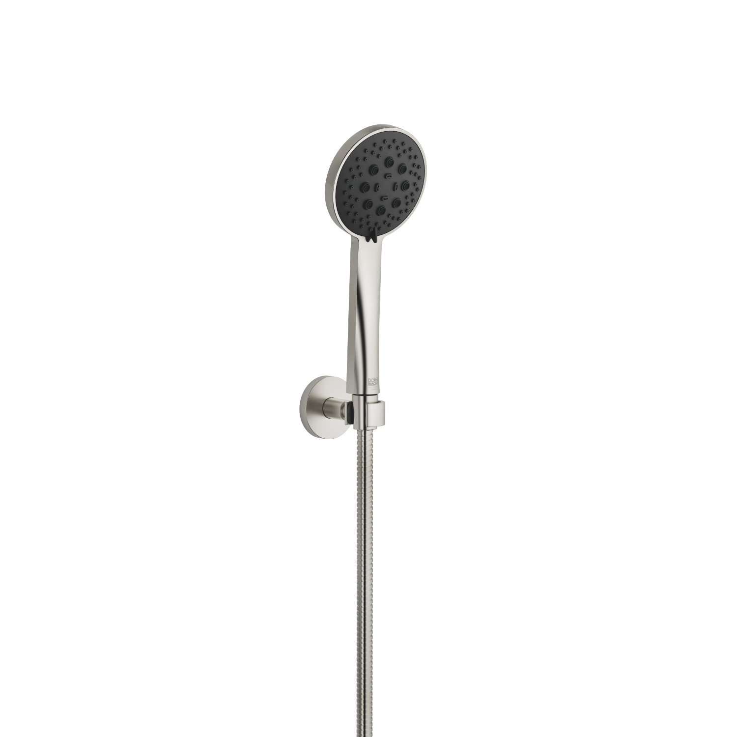 Hand shower set - platinum matt - 27 805 625-06