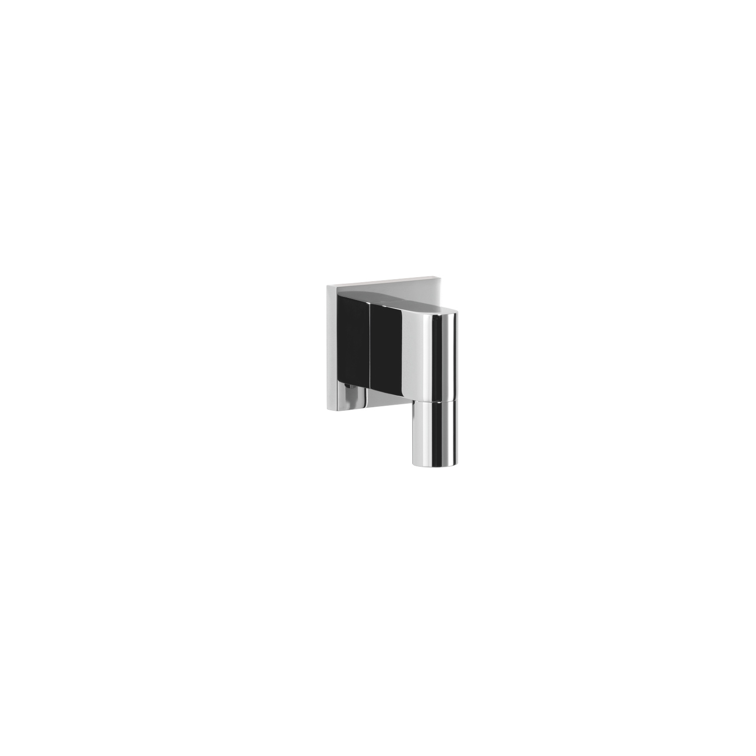 Wall elbow - polished chrome - 28 450 980-00