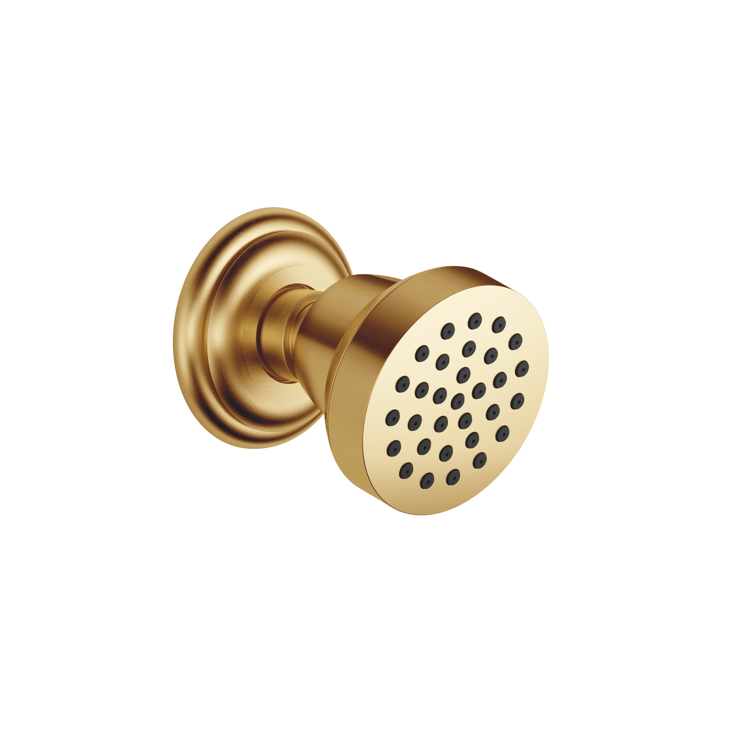 Body spray without volume control - Brushed Durabrass