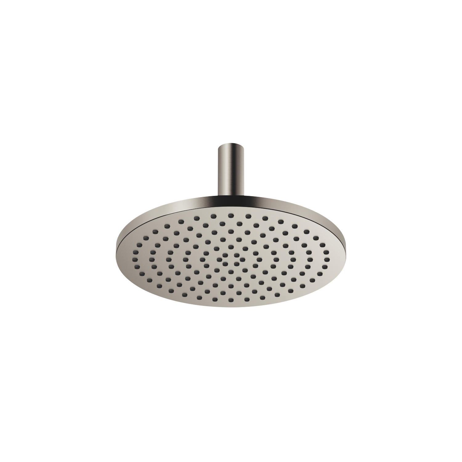 Rain shower with ceiling fixing - platinum matt - 28 689 970-06