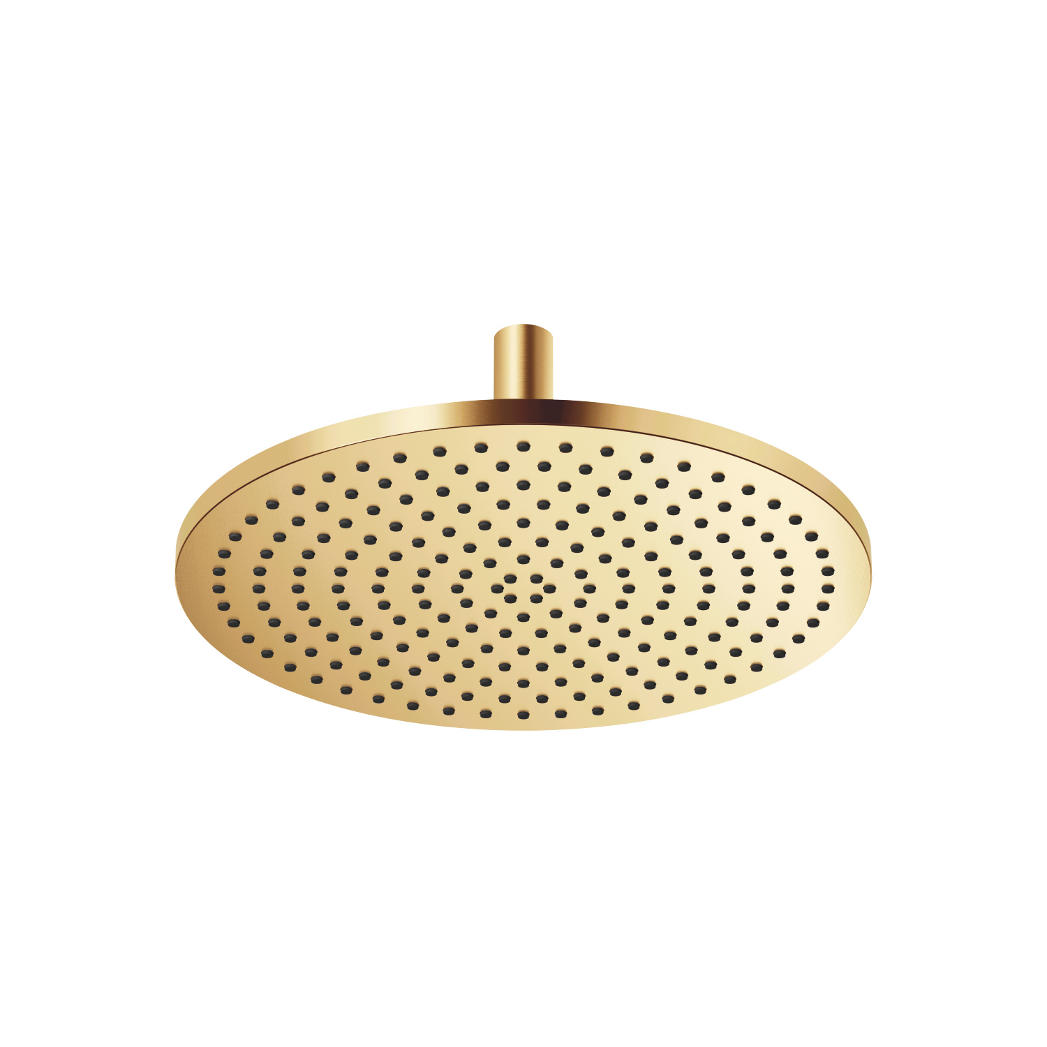 Rain shower with ceiling fixing - brushed Durabrass