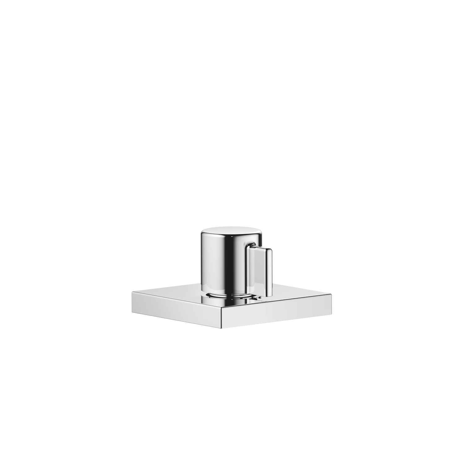 Two-way diverter - polished chrome