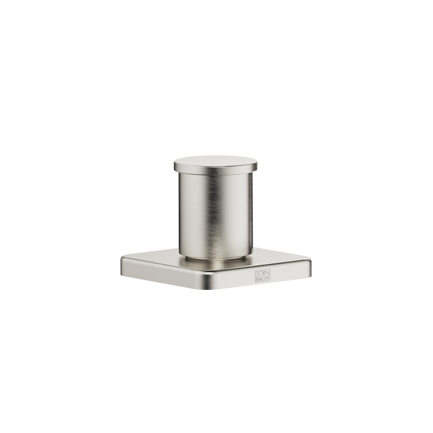 Two-way diverter for bath rim or tile edge installation - platinum matt