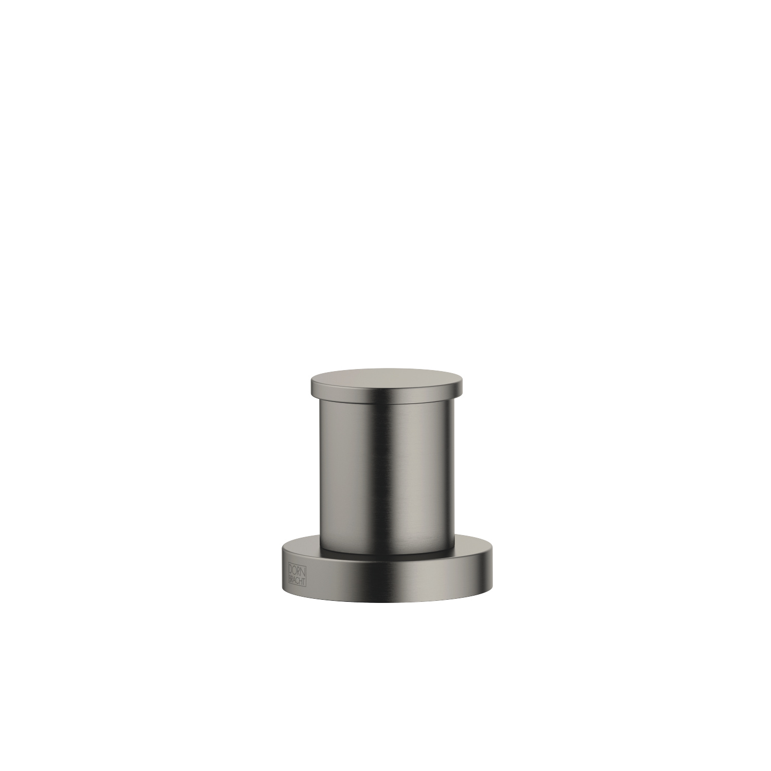 Two-way diverter for bath rim or tile edge installation - Dark Platinum matt - 29 140 979-99