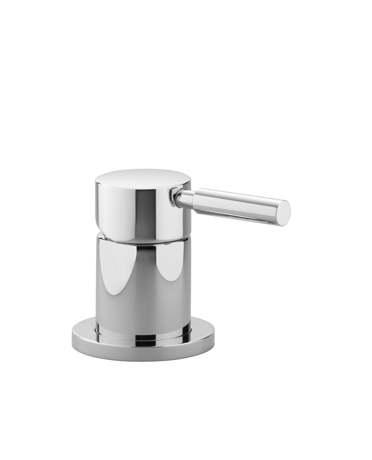 Single-lever bath mixer for bath rim or tile edge installation - platinum matt - 29 200 625-06