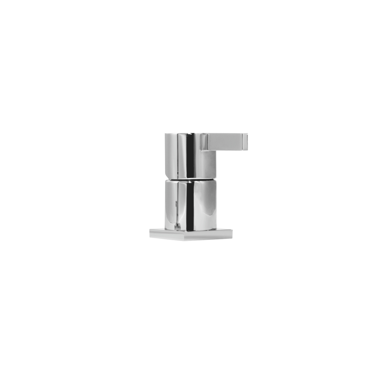 Single-lever bath mixer for bath rim or tile edge installation - platinum matt - 29 200 670-06