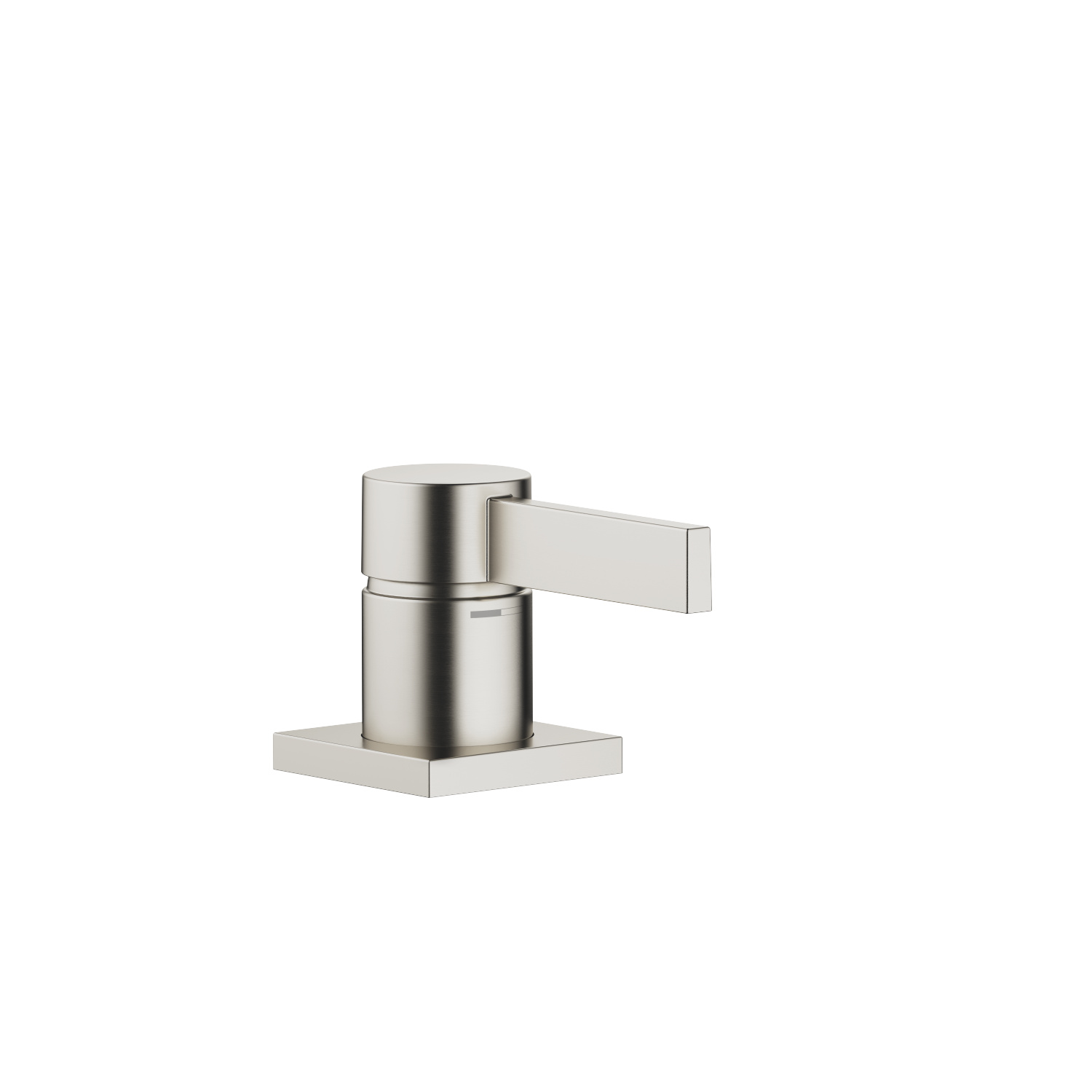 Single-lever basin mixer - platinum matt