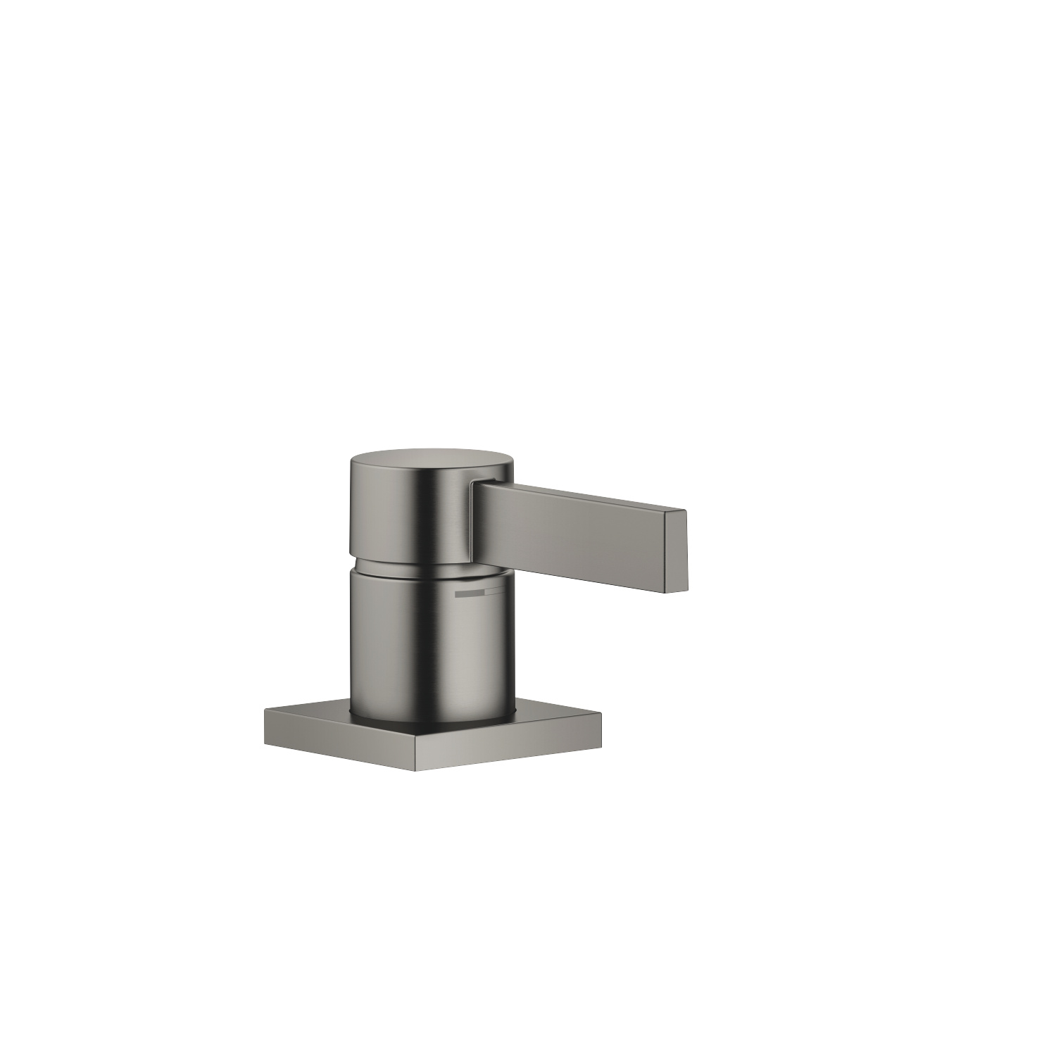 Single-lever basin mixer - Dark Platinum matt